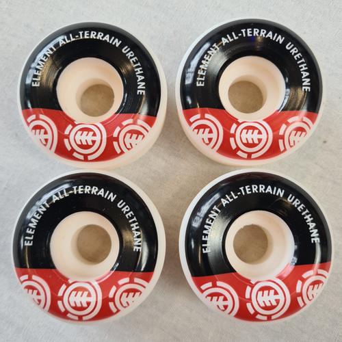 Element Section Skateboard Wheels 52mm - All Terrain Urethane - White