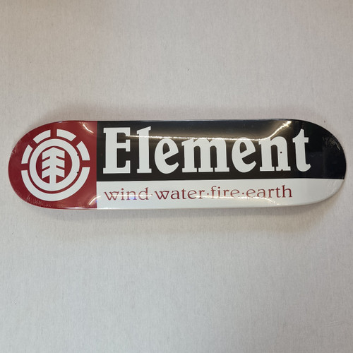 Element - Section 8.25 Inch Deck - Red/White