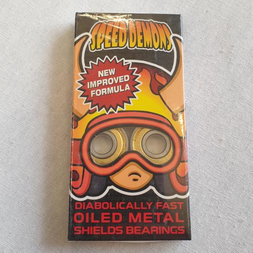 Speed Demons Abec 5 Bearings - Gold