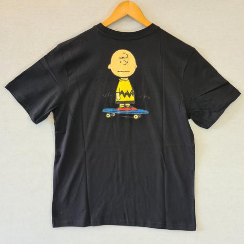 Element x Peanuts - Charlie Brown Tee - Black