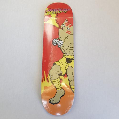 Ripndip Combo Street Fighter Skateboard Deck