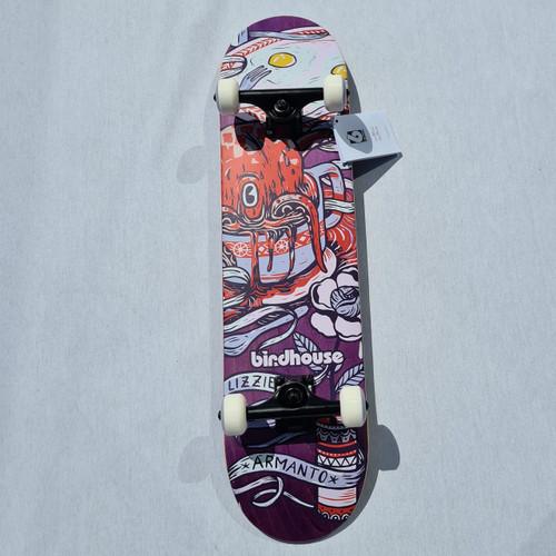 "Birdhouse Lizzie Armanto Favorites - Complete Skateboard Setup - 7.75"" - Purple"