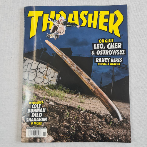 Thrasher Magazine - Issue 484 Nov 2020