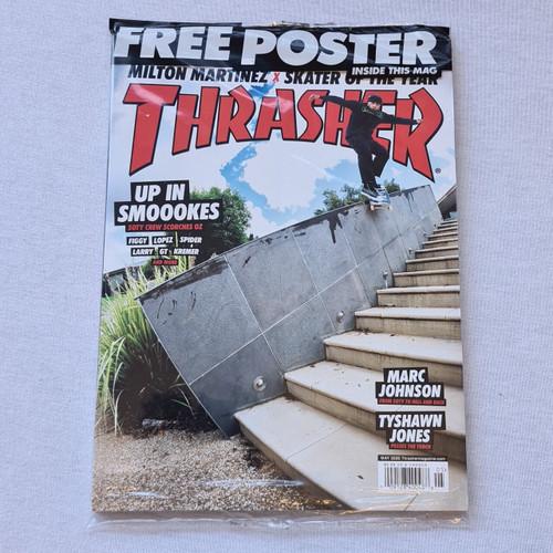 Thrasher Magazine - FREE Thrasher SOTY Poster - Issue May 2020