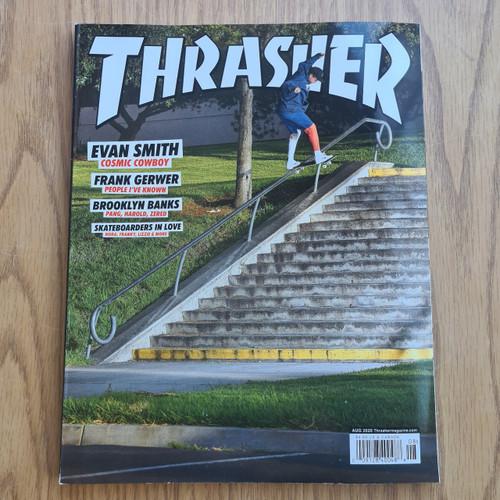 Thrasher Magazine - Issue August 2020