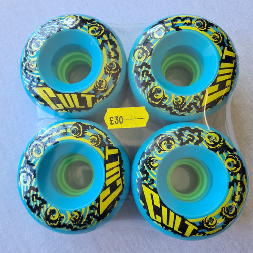 Cult Longboard Wheels Classic 66mm - Blue