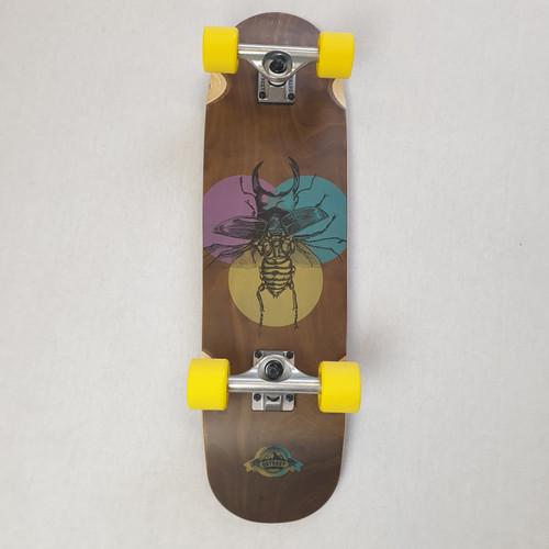 D Street Beetle Cruiser Skateboard Complete
