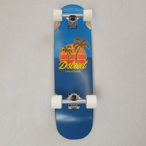 D Street Palm Cruiser Skateboard Complete