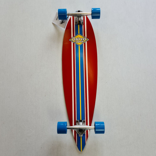 D Street - Pintail - Ocean Blue - 35 IN - Red