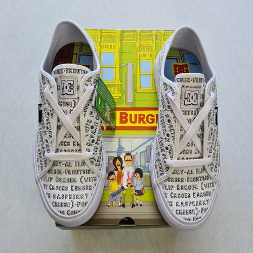 DC x Bobs Burgers - Manuel  - White