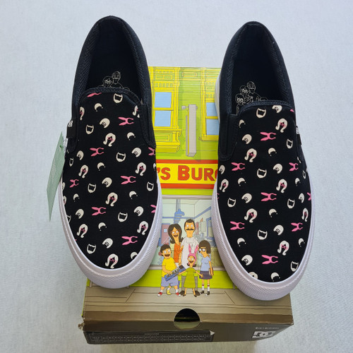 DC x Bobs Burgers - Manuel Slip On - Black