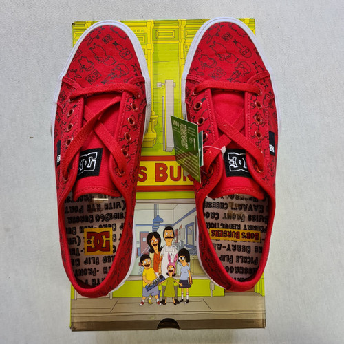 DC x Bobs Burgers - Manuel Shoe - Red