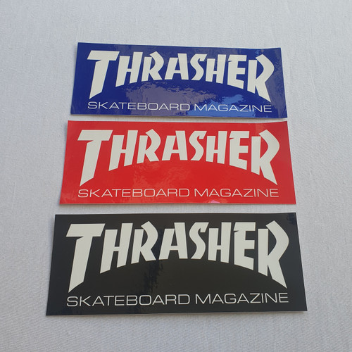 Thrasher Large Triple Sticker Pack - 9 Inch