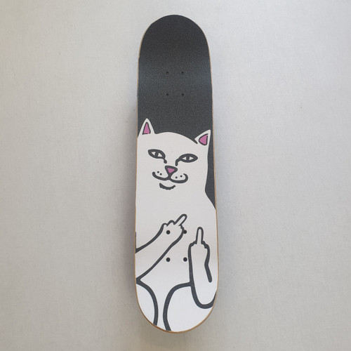 "Renner 7.75"" Complete Skateboard - RIPNDIP Lord Nermal Griptape"