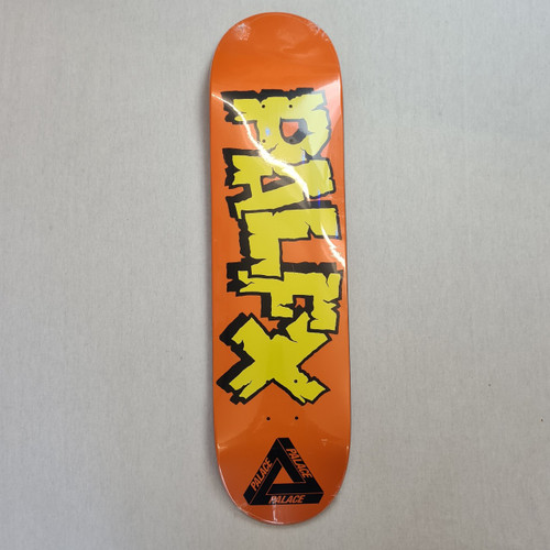 Palace PALFX Deck - 8.1 Inch Wide - Orange