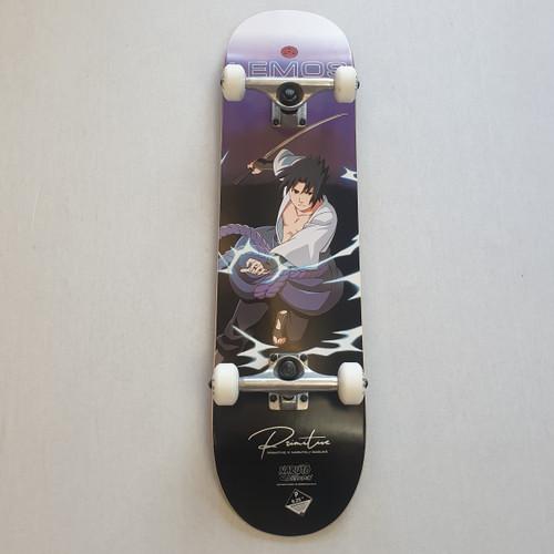 "Primitive X Naruto 8.25""Sasuke Complete Skateboard"