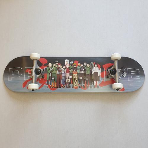 """Primitive X Naruto 8.125""""Leaf Village Complete Skateboard"""