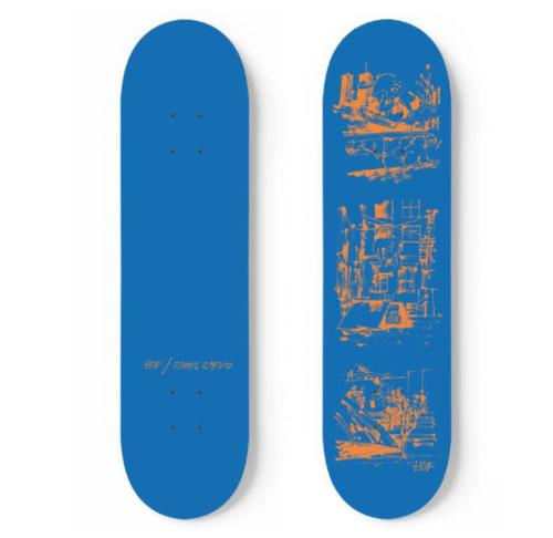 HUF X James Jarvis 8.25 Inch - Royal Blue