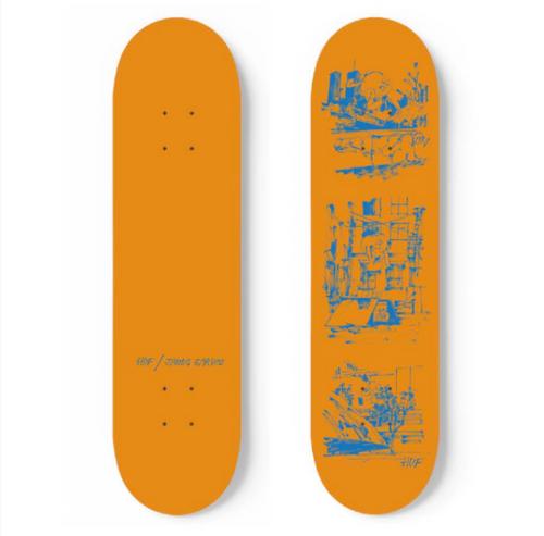 HUF X James Jarvis - 8.25 Inch - Orange