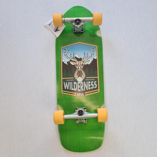 D street Cruiser Skateboard - Wilderness - Green