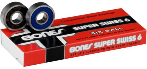 Bones Swiss Bearings - Super Swiss 6 Ball 608