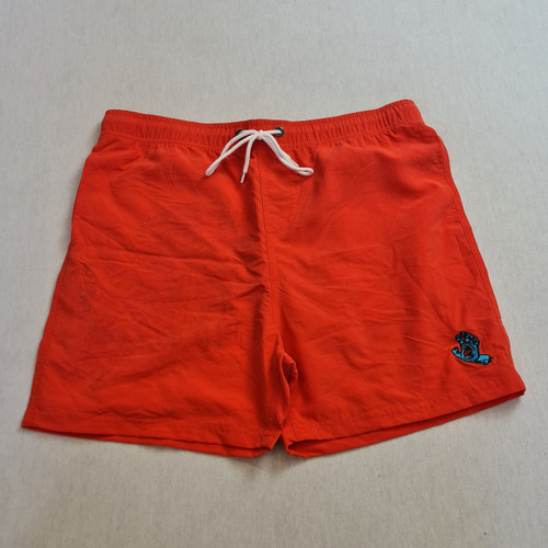 Santa Cruz Skateboards Screaming Hand Swim Shorts - Red/Orange