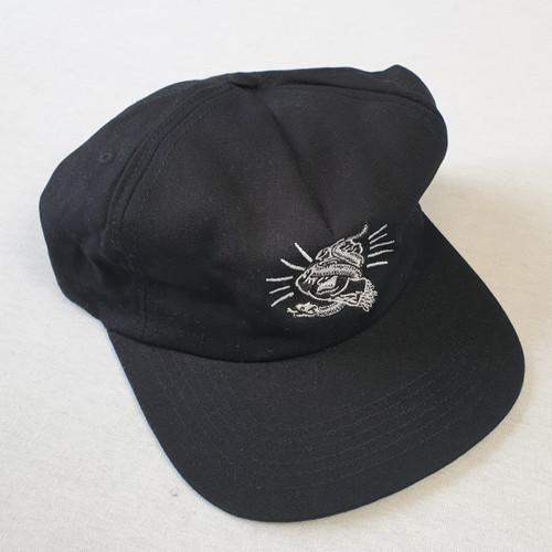Santa Cruz Skateboards Snake Bite Snapback Hat - Black