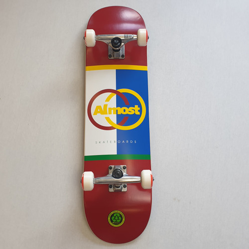 """Almost 8.125"""" Ivy League Complete Skateboard"""