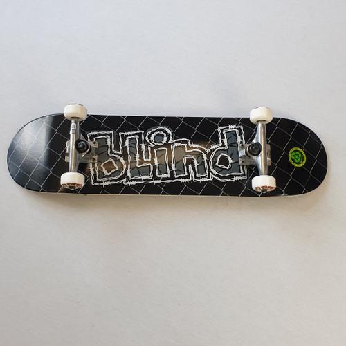 """Blind 8"""" OG Grundge Logo Complete Skateboard"""