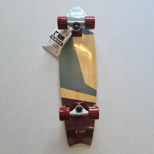 RAM Tshiko Crusier Skateboard - Brown/Grey