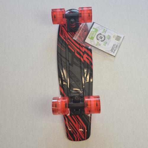 "Madd Retro Skateboard - 22.5"" Crusier Skateboard - Racer"