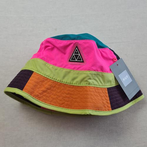 HUF Worldwide Nylon Bucket Hat - Multi