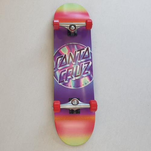"Santa Cruz Iridescent Complete Skateboard - 8.25"""