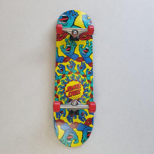"Santa Cruz Mandala Complete Skateboard - 8.25"""