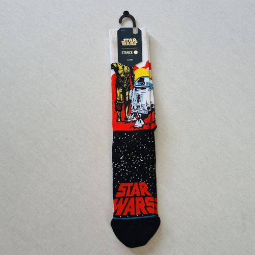 Stance x Star Wars - Droids Socks - Black/Orange