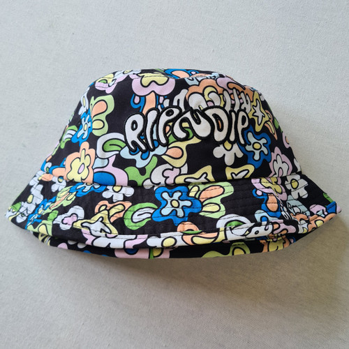 RIPNDIP Flower Cotton Bucket Hat - Multi