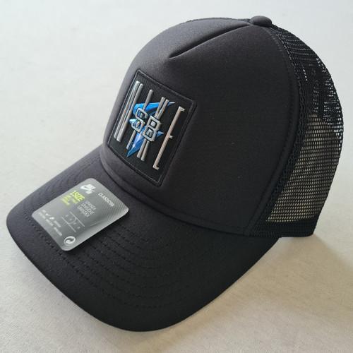 Nike SB Curved Peak Snapback Hat - Black