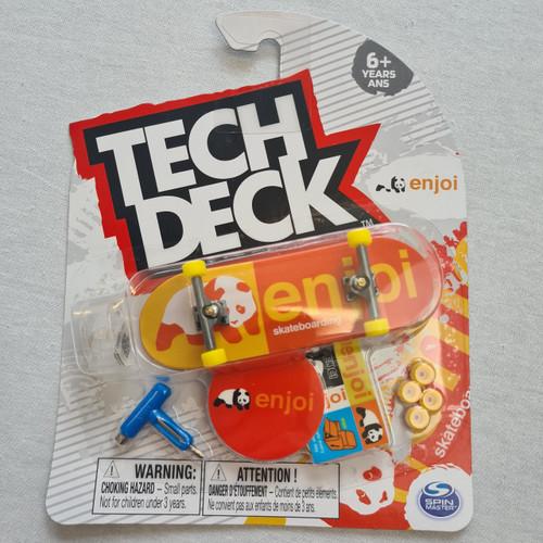 Tech Deck Finger Skateboard - Enjoi - Panta Orange