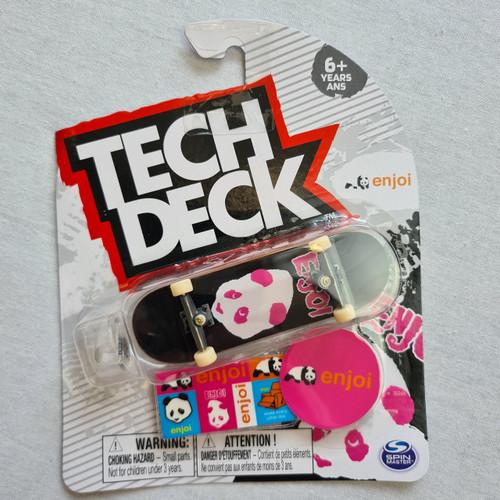Tech Deck Finger Skateboard - Enjoi - Panta Pink/Black