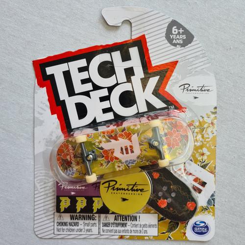 Tech Deck Finger Skateboard - Primitive - Floral Gold