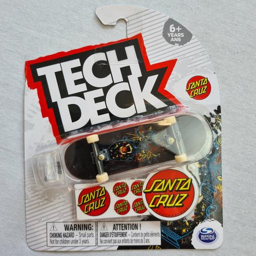 Tech Deck Finger Skateboard - Santa Cruz - Panther