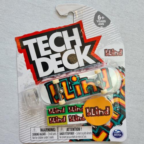 Tech Deck Finger Skateboard - Blind - Logo
