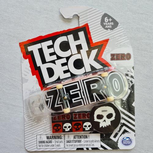 Tech Deck Finger Skateboard - Zero - Logo