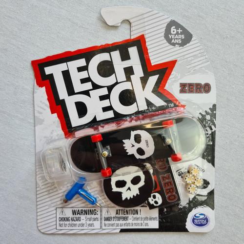 Tech Deck Finger Skateboard - Zero - Skull Logo