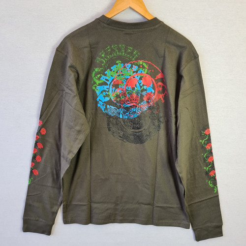 Santa Cruz Skateboards Dressen Rose Long Sleeve Tee - Green