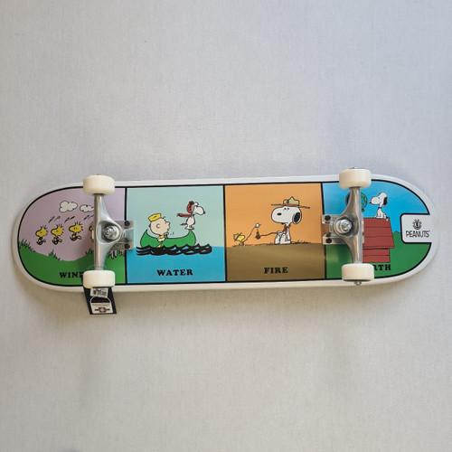 Element x Peanuts - Wind Water Earth Fire Pro Complete Skateboard - 8 Inch