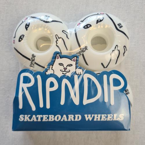 RIPNDIP - Nermal Skateboard Wheels - White