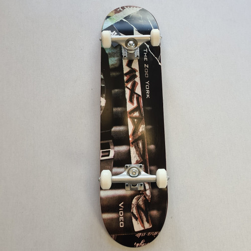 "Zoo York 8"" Mix Tape Complete Skateboard Setup - Black"