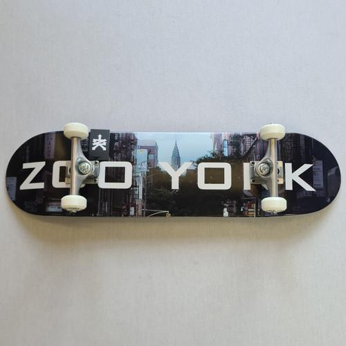 "Zoo York 8"" Block Chrsyler Complete Skateboard Setup - Black"