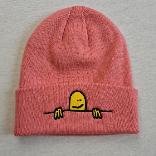 Thrasher Beanie Gonz Sad Logo Beanie - Light Pink